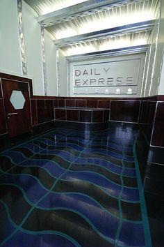 Former Daily Express Building - Fleet Street - London #art #Deco