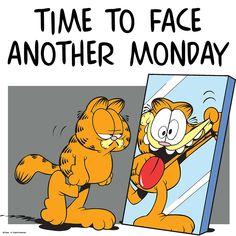 Garfield Pictures, Garfield Quotes, Garfield Cartoon, Garfield And Odie, Monday Humor, Monday Quotes, Cartoon Quotes, Funny Quotes, Cartoon Cartoon