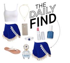 """""""The Daily find: Lucy love shorts!!"""" by elizabethnutt ❤ liked on Polyvore featuring Lucy Love, Wet Seal, Case-Mate, Kate Spade, Essie, HoneyBee Gardens, Marc Jacobs and BERRICLE"""