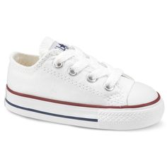 f0ee45ff105cd2 The White Converse All Star Infant Kids Trainer is Staying true to it s Chuck  Taylor roots
