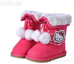 Snow Boots, Ugg Boots, Hello Kitty House, Sanrio, Uggs, Swag, Happiness, Puppies, Friends