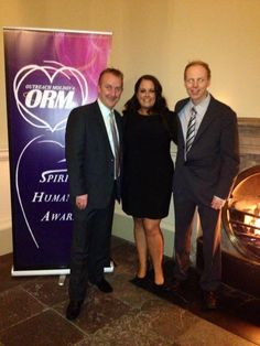 """ORM Founder Dr Suzanne O'Connell meeting the wonderful Phoneshow presenters Mr Adrian Kennedy & Mr Jeremy Dixon who took part in the national campaign """"Race to Moldova"""" Moldova, Awards, Campaign, Spirit, Movie Posters, Movies, 2016 Movies, Film Poster, Films"""