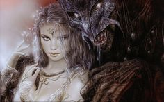 Beauty and the Beast - Luis Royo