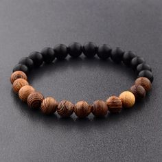 8 mm Lazurite Stone bouddhisme chakra Mala Bracelet LOTUS Femmes Hommes Perles Strand