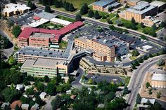 Portneuf Medical Center Hospital Pocatello Idaho State University Aerial 2007