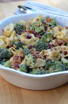 Tortellini Broccoli Salad by From Valerie's Kitchen