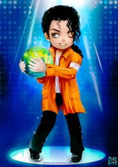 Michael Jackson chibi anime by daihaa-wyrd on deviantART