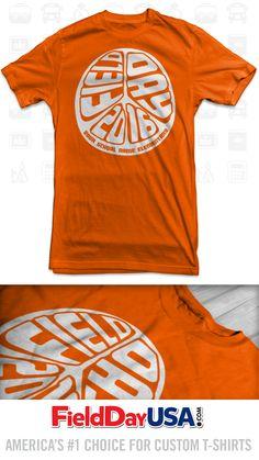 Budget Event Field Day T-Shirt Design BE16-10 School Spirit Wear, Basketball Plays, Field Day, Pta, Shirt Ideas, School Stuff, Shirt Designs, Budget, Mens Tops