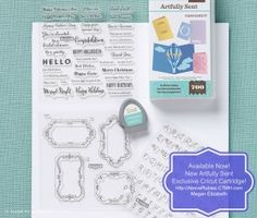 All new Artfully Sent Exclusive Cricut Cartridge is NOW available!  and AboveRubiesStudio.com is celebrating with a HUGE giveaway worth over $200 in CTMH Goodies! Come Enter to Win, Earn FREE Stamps by shopping at http://AboveRubies.CTMH.com and get YOUR NEW Cricut Cartridge TODAY! #Cricut #ArtfullySent #CTMH