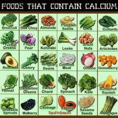 Foods that Contain Calcium Broccoli Bok Choy Almonds Pumpkin Seeds Okra Collards Turnip Greens Prickly Pear Kohlrabi Leeks Brazil Nuts Artic. Foods That Contain Calcium, Calcium Rich Foods, Calcium Diet, Calcium Deficiency, Calcium Deposits, High Calcium Foods List, Calcium Enriched Foods, Non Dairy Calcium Sources, Healthy Foods