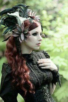 #Victorian #Goth girl