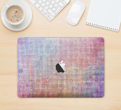"""The Messy Water-Color Scratched Surface Skin Kit for the 12"""" Apple MacBook"""