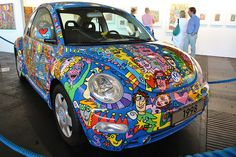 VW New Beetle by James Rizzi - Total View by chrisshots,