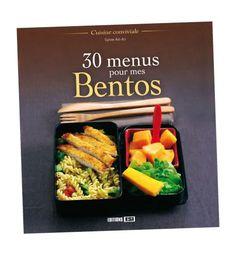 """Finalement en français … """"30 menus pour mes Bentos"""""""
