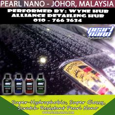 Super GLossy Nano Coating Performed by Wyne Hub Alliance Detailing Hub had involved in Malaysia car detailing & car coating services. Our main product line are now the world wide well known Pearl Nano Coating series products and Hilustre Car Care series products. Call 010–766 3634 Now! For Interested Distributors and Dealers of Pearl Nano please contact Dave: Dave@PearlUSA.net or Call: 808 779–7163. Visit www.pearlnano.com #wynehub #alliancedetailinghub #pearlmalaysia