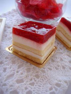 DOLCEmente SALATO: Trancetti yogurt e fragole