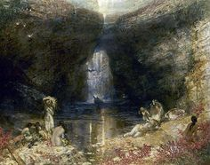 Alfred Joseph Woolmer, the garden of the sea, a fantasy