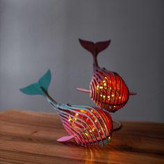 dense design by ParanebaStore Animal Lamp, Best Night Light, Fish Lamp, Diy Apartment Decor, Steampunk Lamp, Wood Lamps, 3d Prints, Lamp Design, Diy And Crafts