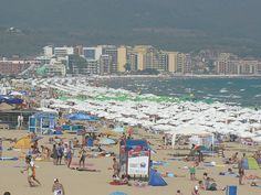 Sunny Beach is Bulgaria's largest tourist resort   travelling guide city guide for travel holidays info places to visit vacation spot