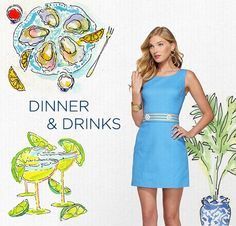From lunch to drinks, live it in Lilly!