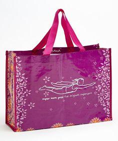 Look what I found on #zulily! Super Mom Tote Bag #zulilyfinds