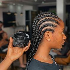 Braided Cornrow Hairstyles, Black Hair Updo Hairstyles, Braids Hairstyles Pictures, Roll Hairstyle, Baby Girl Hairstyles, Braided Hairstyles For Black Women, African Braids Hairstyles, Hair Pictures, Cornrows Braids For Black Women