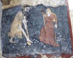 Adam delving & Eve Spinning: Broughton, Cambridgeshire (‡Ely) C.15