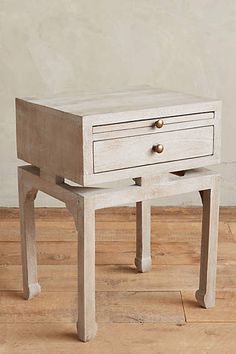 """Tanah Nightstand - anthropologie $298. 24""""H, 18""""W, 15""""D"""
