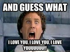 Explore and share this really cool Buddy The Elf meme collection that will leave you on a good mood the entire day. Missing You Memes, I Miss You Meme, Look At You, Just For You, Funny Quotes, Funny Memes, Elf Memes, Hilarious, Qoutes