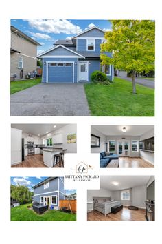 """Situated in the family oriented gated community of """"Brookside Gates"""" off Sherman Road, this beautiful and immaculately kept 3 bedroom bathroom sq. home shows pride of ownership and is a """"must see""""! First Time Home Buyers, Heat Pump, Real Estate Services, Gated Community, Floor Space, Gas Fireplace, Laminate Flooring, Wonderful Places, Floor Plans"""