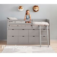Storage Bed: Cheap Childrens Beds With Storage Beautiful Bedroom Cool Solid Wood Kids Twin Bed With Trundle And Storage of Awesome Cheap Childrens Beds with Storage Cabin Beds For Kids, Kids Bunk Beds, Boys Cabin Bed, Loft Beds, Big Girl Rooms, Boy Room, Child's Room, Box Bed, Childrens Beds