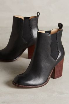 Splendid Magnolia Chelsea Boots | botas cano curto de couro.