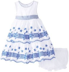 Laura Ashley London Baby-Girls Infant and Blue Embroidered Tiered Dress, White, 12 Months Laura Ashley London http://www.amazon.com/dp/B00GOS69SE/ref=cm_sw_r_pi_dp_C1iTtb01H88WC9PV