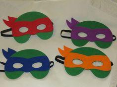 Máscaras de tortuga Ninja máscaras de tortugas ninja mutantes