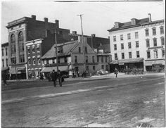 NW corner of York's Centre Square in the years following the Civil War Walgreens Photo Coupon, York Pennsylvania, York Pa, Gettysburg, Great Memories, Old Pictures, American History, Vintage Photos, Street View