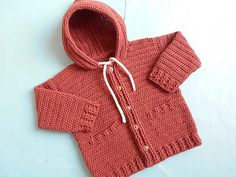I love this Baby Jacket Cardigan and always crochet baby things,sharing beautiful and modern crochet pattern. My hobby is crocheting and create easy pattern Crochet Baby Cardigan, Crochet Jacket, Cardigan Pattern, Crochet Baby Hats, Crochet For Kids, Crochet Clothes, Baby Knitting, Free Crochet, Crochet Hoodie