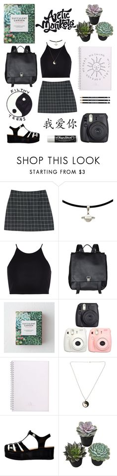 """❈ Infinite elation ❈"" by venus1225 ❤ liked on Polyvore featuring StyleNanda, River Island, Proenza Schouler, Fujifilm, Belle Fleur, Chapstick and Retrò"