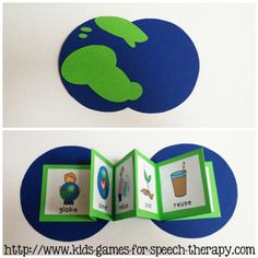 earth day vocabulary speech therapy activities from kids-games-for-speech-therapy.com