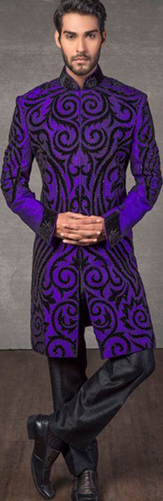 Groom Fashions - one of my favorite colors ever. very nice. I just wish I had an embroidery machine to try adapting something like this for myself.
