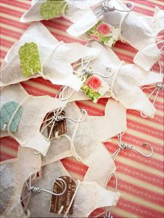 How to Make Fashion Teabags