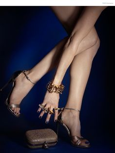Alexander McQueen Clutch, Giuseppe Zanotti Sandals, Noir All Rings, Jennifer Fisher All Bracelets and Cuffs, Nail Color Metallica Blue by Kleancolor Jewelry Editorial, Editorial Fashion, Alexander Mcqueen Clutch, After Midnight, Shoes 2014, Jennifer Fisher, Unique Fashion, Giuseppe Zanotti, Fashion Photo