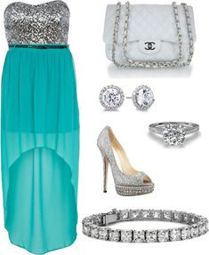 Polyvore Outfits for Teen Girls | ... girls wear accessories just like girls dress bangles ear rings heel