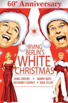 White Christmas Movie Poster - Bing Crosby, Danny Kaye, Rosemary Clooney…
