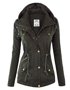 MBJ Womens Pop of Color Parka Jacket XL OLIVE Made By Johnny http://www.amazon.com/dp/B00X6ISQOU/ref=cm_sw_r_pi_dp_XBtcwb1EVFNJ2