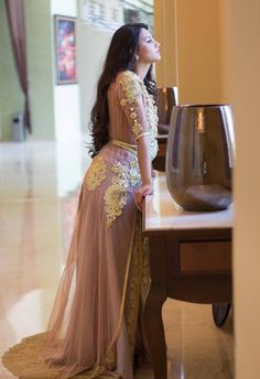 Moroccan Princesses | Nuriyah O. Martinez | modèles de caftan haute couture