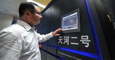 Engenheiros militares da China anunciaram hoje (17 de junho) o desenvolvimento com sucesso de um supercomputador capaz de calcular 33.860 biliões de operações por segundo, colocando a China novamente no topo da rapidez informática.