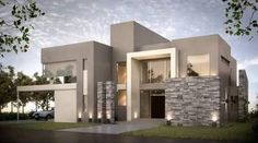 Awesome Casas Modernas Maxresdefault Design Ideas for Your Home Decorating and Home Remodeling of The Years Modern House Plans, Modern House Design, Home Design, Design Ideas, Modern Architecture House, Architecture Design, Architecture Awards, Dream House Exterior, Villa Design