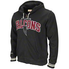 Atlanta Falcons Mitchell & Ness Black Arch Full-Zip Hooded Fleece $89.99  http:/