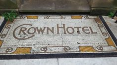 Crown Hotel mosaic
