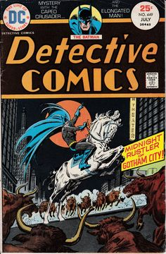 Detective Comics 449  July 1975 Issue  DC Comics  by ViewObscura